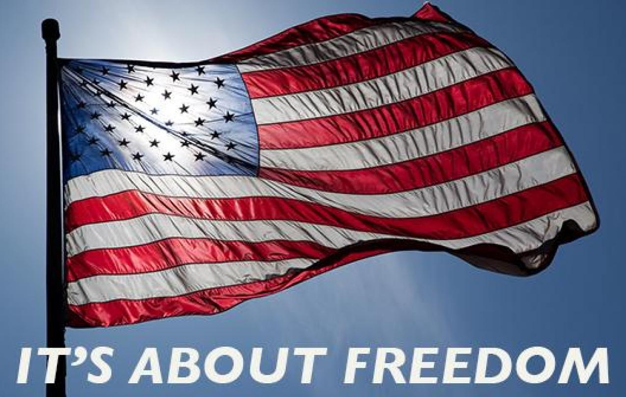Flag Graphic: Freedom