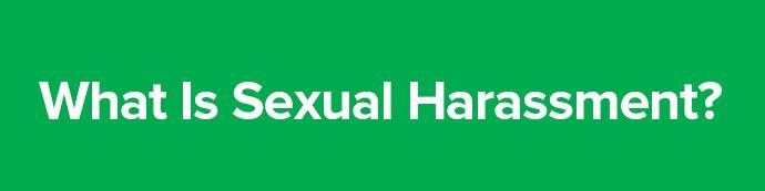 Preventing and Combating Sexual Harassment in the Workplace