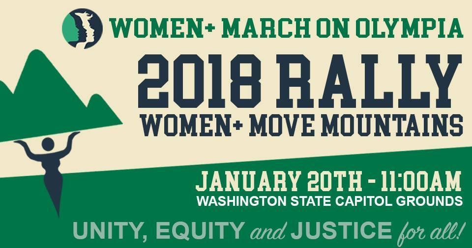 Women Move Mountains Rally Jan 20