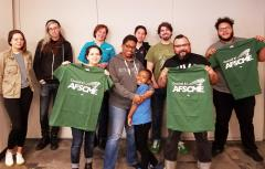 New AFSCME members at Erie House